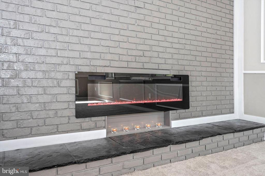 It's Electric - Color Changing Fireplace w/ Remote - 6121 QUINN RD, FREDERICK