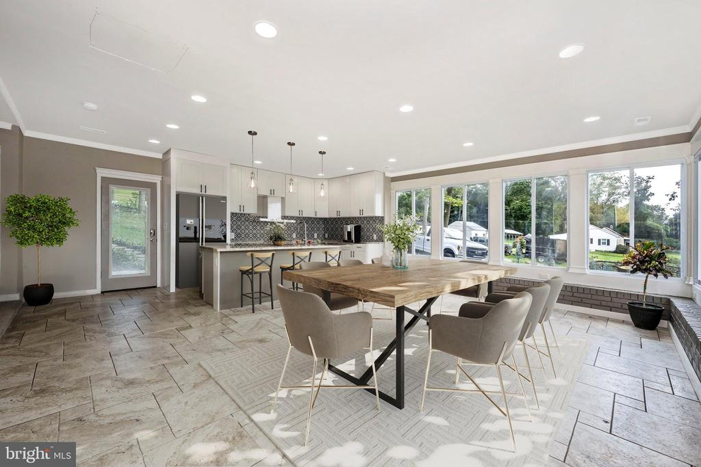 Brand New Kitchen - Staged To Perfection - 6121 QUINN RD, FREDERICK