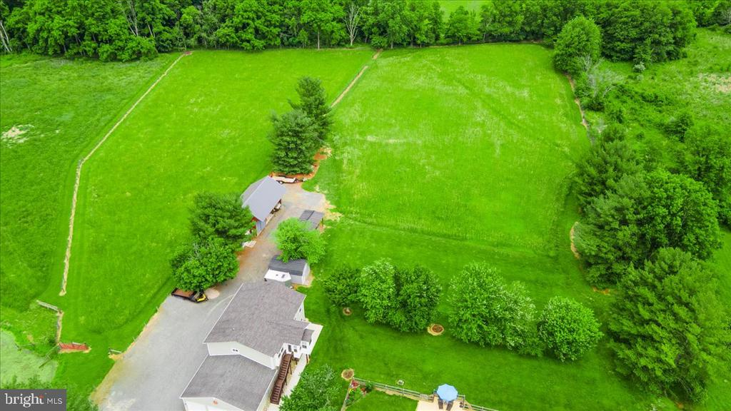 Potential to purchase mowed area to left - 37872 CHARLES TOWN PIKE, HILLSBORO