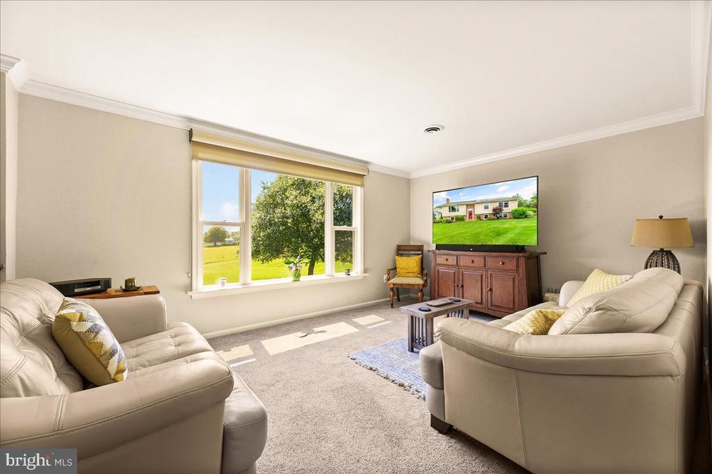 Large, Sunny Living Room - 37872 CHARLES TOWN PIKE, HILLSBORO
