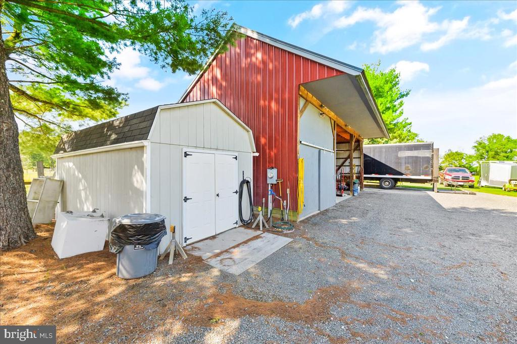Equipment Shed & Additional Storage Shed - 37872 CHARLES TOWN PIKE, HILLSBORO