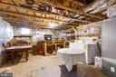Washer/dryer and work bench area - 15008 BRIDGEPORT DR, DUMFRIES