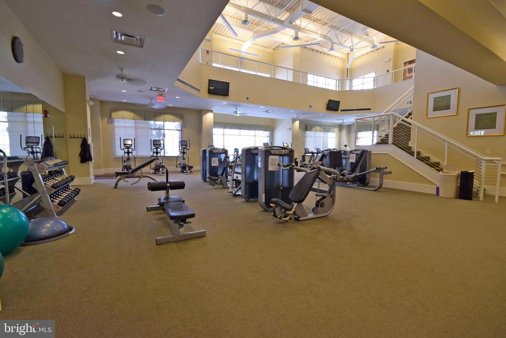 Community  work out space - 238 LONG POINT DR, FREDERICKSBURG