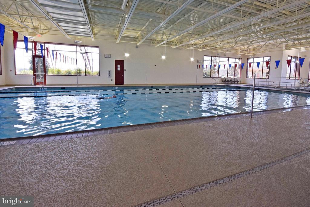 Community indoor pool - 238 LONG POINT DR, FREDERICKSBURG