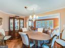 Dining Room w/Hardwoods - 304 RAFT CV, STAFFORD