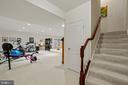 Lower Level Huge Recreation/Multipurpose Room - 11201 BLUFFS VW, SPOTSYLVANIA