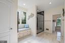 Heated Ceramic Floor extend into Walk In Closet - 11201 BLUFFS VW, SPOTSYLVANIA