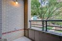 Balcony - 525 N FAYETTE ST #222, ALEXANDRIA