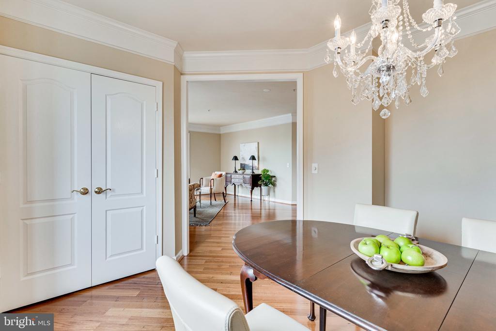3rd BR-currently being used as formal dining room - 901 N MONROE ST #1501, ARLINGTON