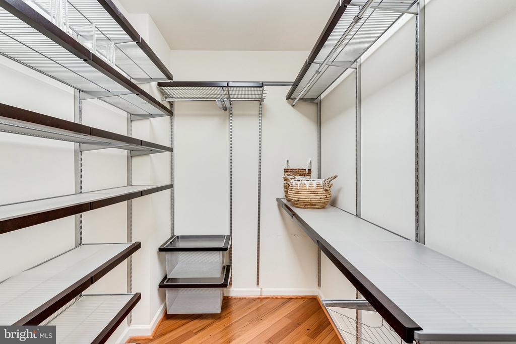 Large walk-in closet & linen closet (not visible) - 901 N MONROE ST #1501, ARLINGTON