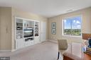 2nd BR - Another spectacular view! - 901 N MONROE ST #1501, ARLINGTON