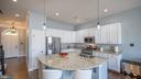 Fantastic Kitchen with large center island - 12712 PIEDMONT TRAIL RD, CLARKSBURG