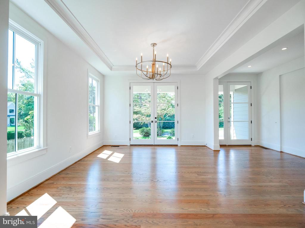 Look up...the lighting fixtures are DYNOMITE! - 635 FREDERICK ST SW, VIENNA