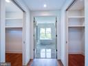 2 separate closets - 635 FREDERICK ST SW, VIENNA