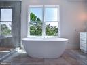 Stand alone soaking tub - 635 FREDERICK ST SW, VIENNA