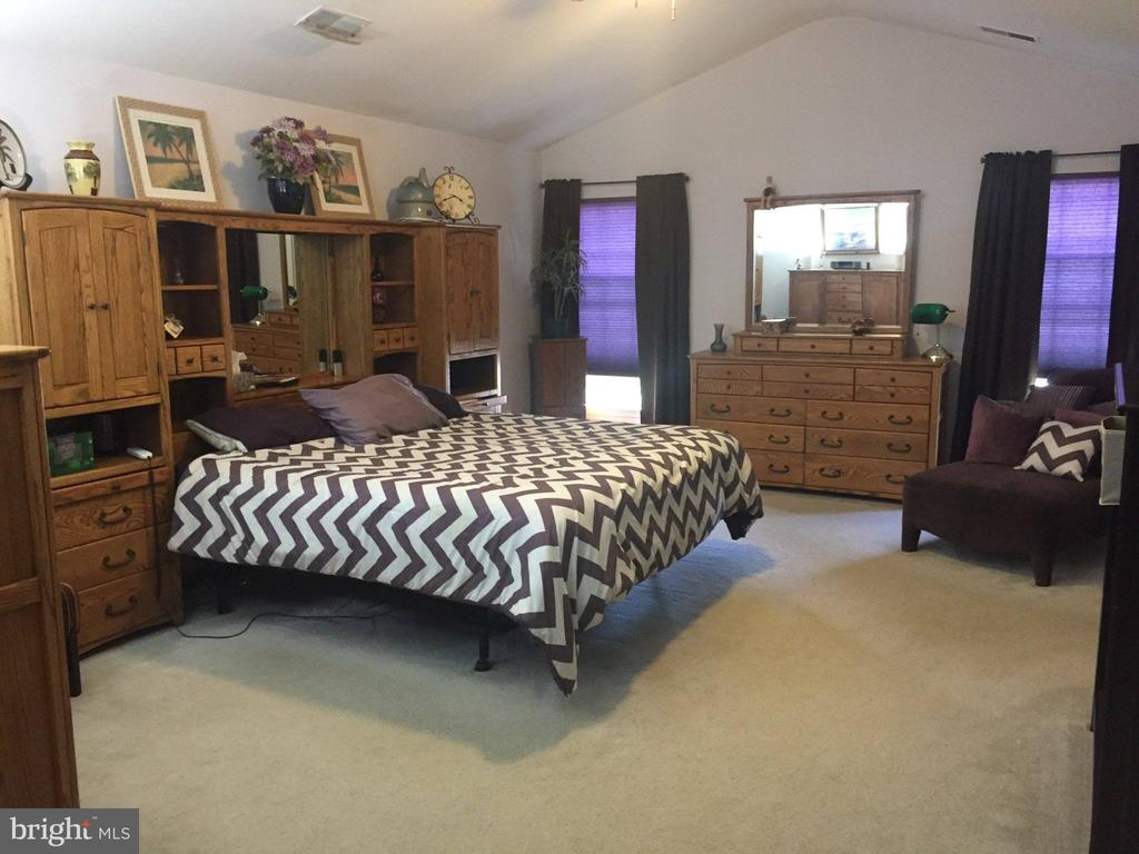 Huge Primary bedroom with Cathedral ceiling! - 15305 LIONS DEN RD, BURTONSVILLE