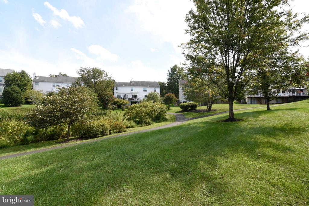 View from patio - 21320 COMUS CT, ASHBURN