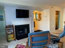 Warm and cozy living room. - 8800 TANGLEWOOD LN #NONE, MANASSAS