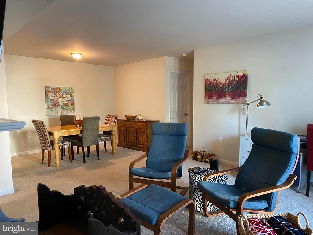 Light and bright living  and dining area. - 8800 TANGLEWOOD LN #NONE, MANASSAS
