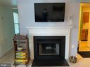 Picture Perfect Fireplace with TV - 8800 TANGLEWOOD LN #NONE, MANASSAS