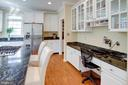 Desk for you to work at while in the Kitchen - 25891 MCKINZIE LN, CHANTILLY
