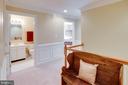 Upper Level Hallway shows Hall Bath - 25891 MCKINZIE LN, CHANTILLY