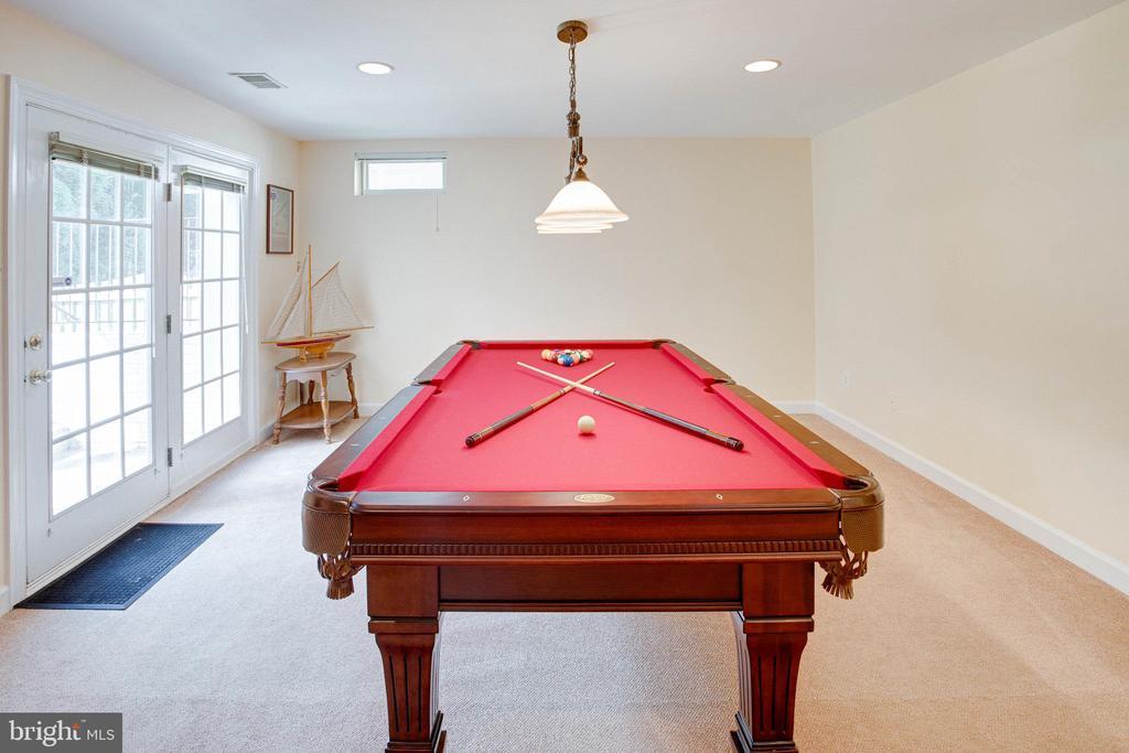 Billiard Area - 25891 MCKINZIE LN, CHANTILLY