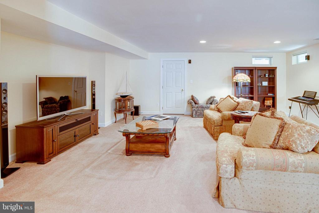 Rec Room from other side.  This place is huge! - 25891 MCKINZIE LN, CHANTILLY
