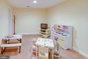 Lower Level Den is kids playroom - 25891 MCKINZIE LN, CHANTILLY