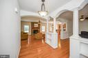 Open floor plan gleaming hardwood floors - 12812 ORANGE PLANK RD, LOCUST GROVE