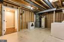 Large Storage/Laundry Room - 100 MOSER CIR, THURMONT