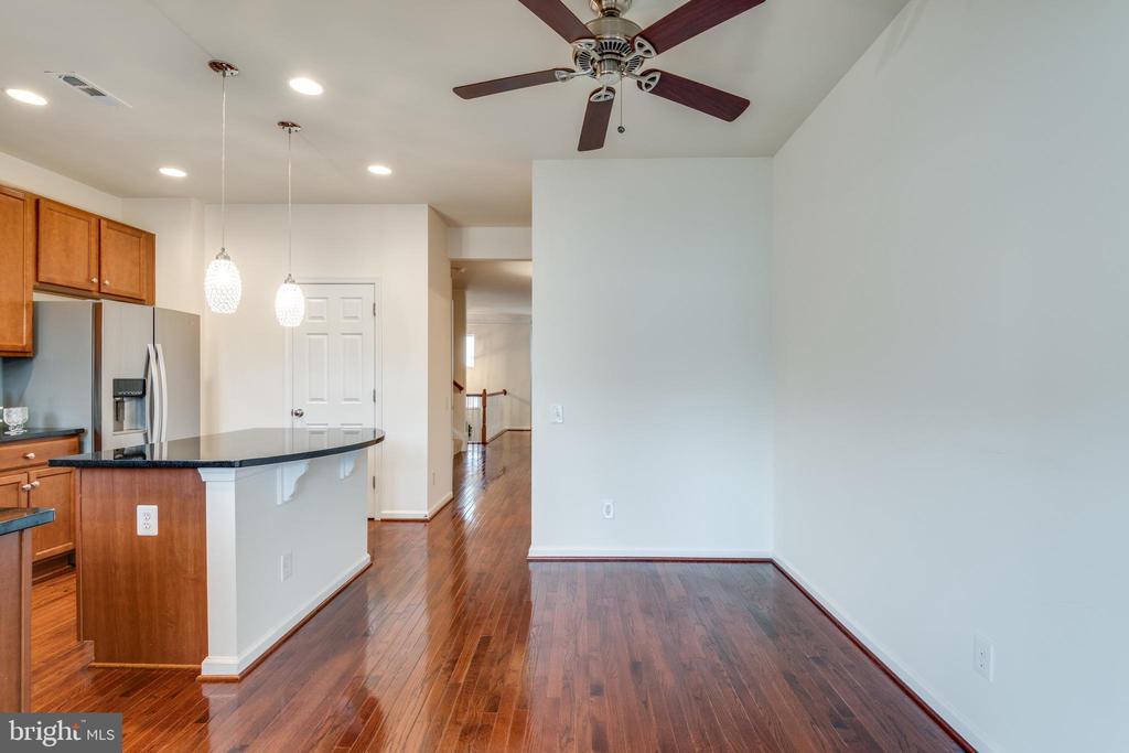 Hardwood Floors Throughout the Main Level - 42660 NEW DAWN TER, BRAMBLETON