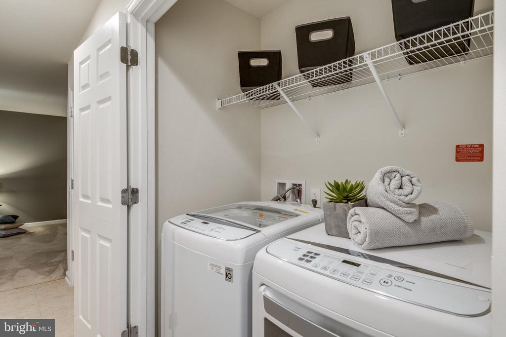 Laundry w/LG Washer and Dryer (NEW 2018) - 42660 NEW DAWN TER, BRAMBLETON