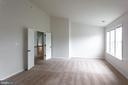 Primary Bedroom With Vaulted Ceilings - 348 RUDDER ROAD, SHEPHERDSTOWN