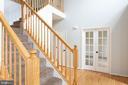 Grand Two Story Entry with Hardwood Flooring - 348 RUDDER ROAD, SHEPHERDSTOWN