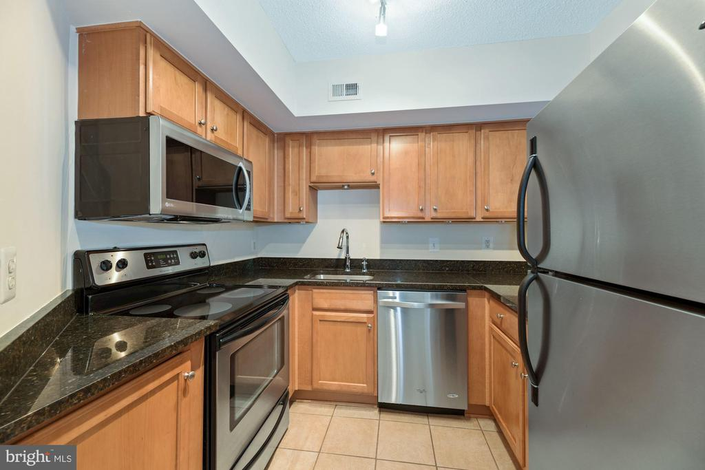 Kitchen Boasts Stainless Steel Appliances! - 1001 N RANDOLPH ST #604, ARLINGTON
