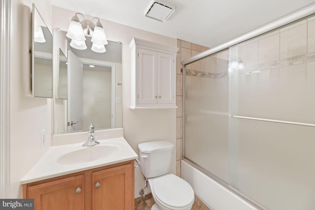 Full Bathroom - Maple Wood Cabinetry! - 1001 N RANDOLPH ST #604, ARLINGTON