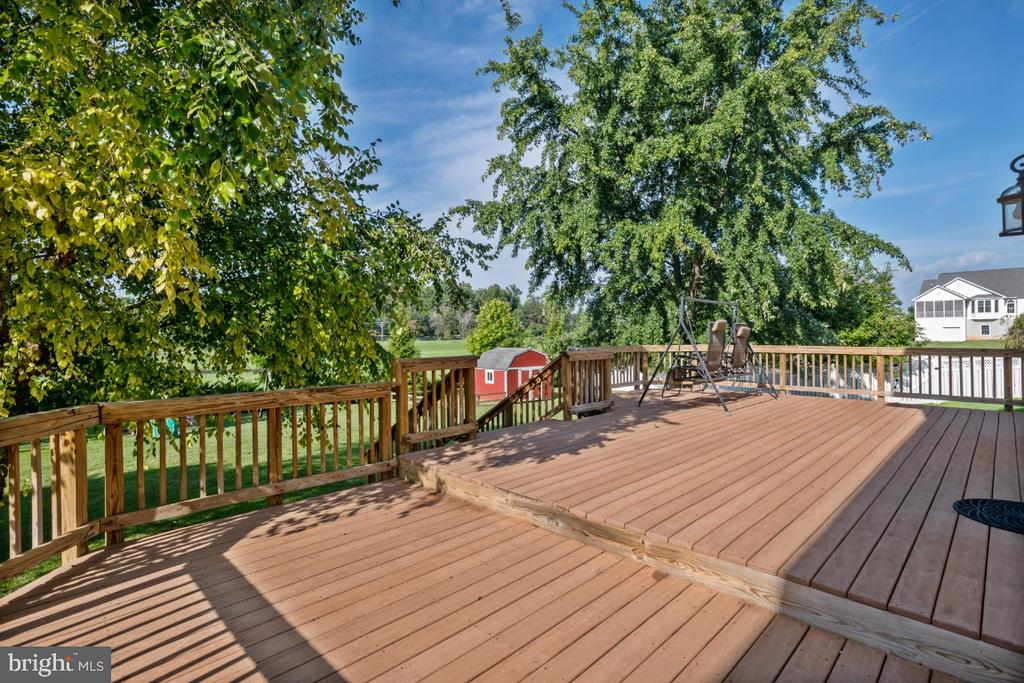 The Awesome Rear Deck! - 513 EWELL CT, BERRYVILLE