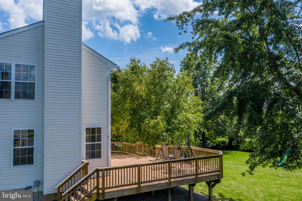 Side / Deck View - 513 EWELL CT, BERRYVILLE
