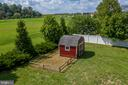 Garden & Shed! - 513 EWELL CT, BERRYVILLE