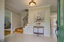 Welcoming Entry foyer - 13832 TURNMORE RD, SILVER SPRING
