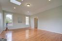 Hardwood floors in the in-law suite - 13832 TURNMORE RD, SILVER SPRING