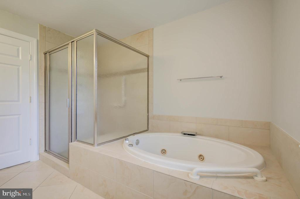 Jacuzzi tub and walk-in shower - 13832 TURNMORE RD, SILVER SPRING