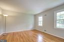 Third bedroom with hardwood floors - 13832 TURNMORE RD, SILVER SPRING