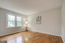 Second bedroom has an en-suite bath - 13832 TURNMORE RD, SILVER SPRING