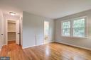 Second bedroom has two closets - 13832 TURNMORE RD, SILVER SPRING