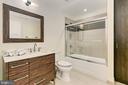 Full bath - 1700 N CLARENDON BLVD #123, ARLINGTON