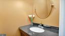 Main Level Half Bath - 2056 FARRAGUT DR, STAFFORD