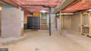 Unfinished Basement w/Space for Rooms - 2056 FARRAGUT DR, STAFFORD