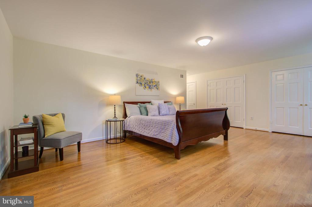 Master bedroom suite - 9706 SPRING RIDGE LN, VIENNA